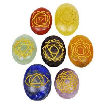 chakra crystal stones